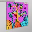 Canvas print Fantasy Tree, side