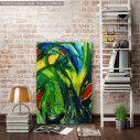 Πίνακας σε καμβά Abstract background IX