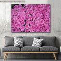 Canvas print, Roses background