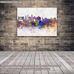 Canvas print Rhodes panorama