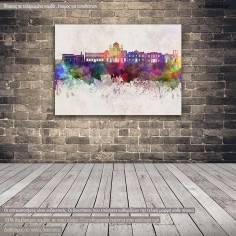 Canvas print Irakleio panorama
