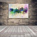 Canvas print Paris panorama