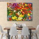 Canvas print , Colorful flower meadow
