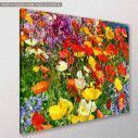 Canvas print , Colorful flower meadow, side