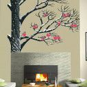 Wall stickers Birds in the snow