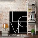 Canvas print Love II