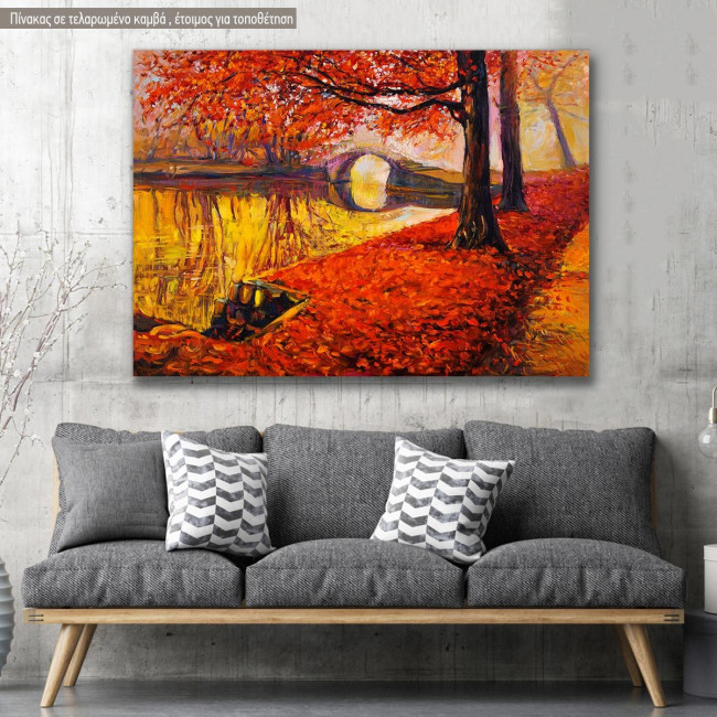 Canvas print Park, Autumn park