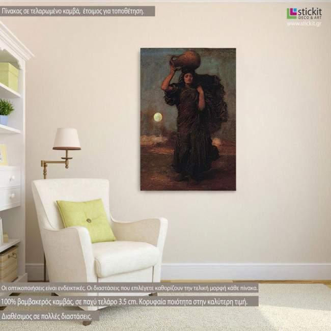Canvas print A Nile woman, Leighton Frederic