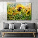Canvas print, Sunflower field