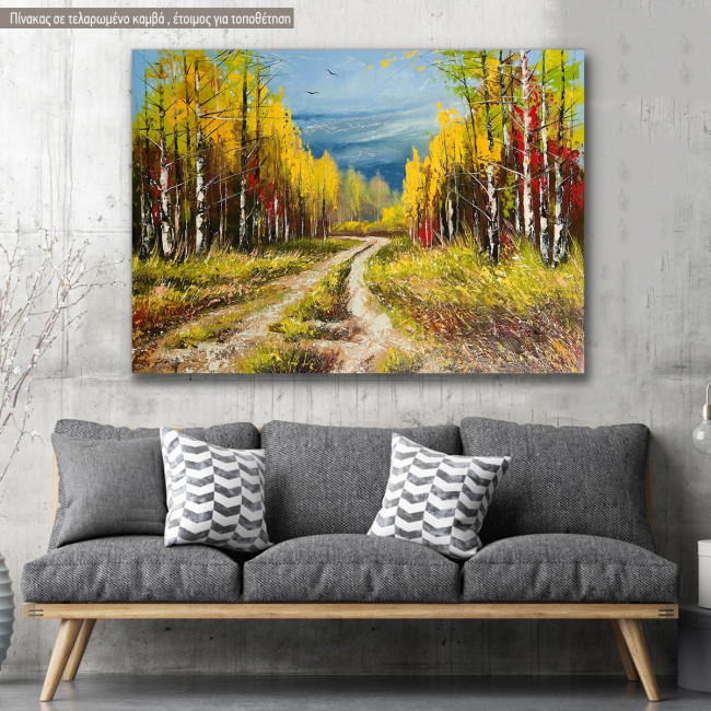 Canvas print, Gold autumn