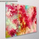 Canvas print Abstract selection XIII, side