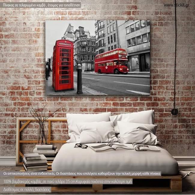 Canvas print London, London instances