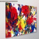 Canvas print Abstract selection L, side