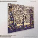 Tree of life mauve, (original G. Klimt), πίνακας σε καμβά, κοντινό