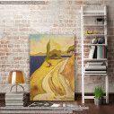 Πίνακας ζωγραφικής Από τον Ωρωπό, Οικονόμου, αντίγραφο σε καμβά