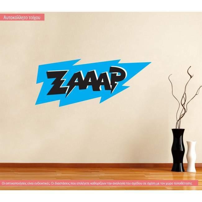 Αυτοκόλλητο τοίχου Zaap