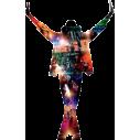 Michael Jackson  This is it | Αυτοκόλλητο τοίχου, κοντινό