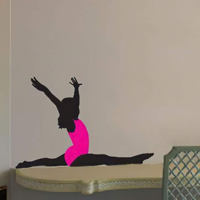Wall stickers Rhythmic gymnastics