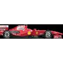 Ferrari F1 Φόρμουλα 1, αυτοκόλλητο τοίχου