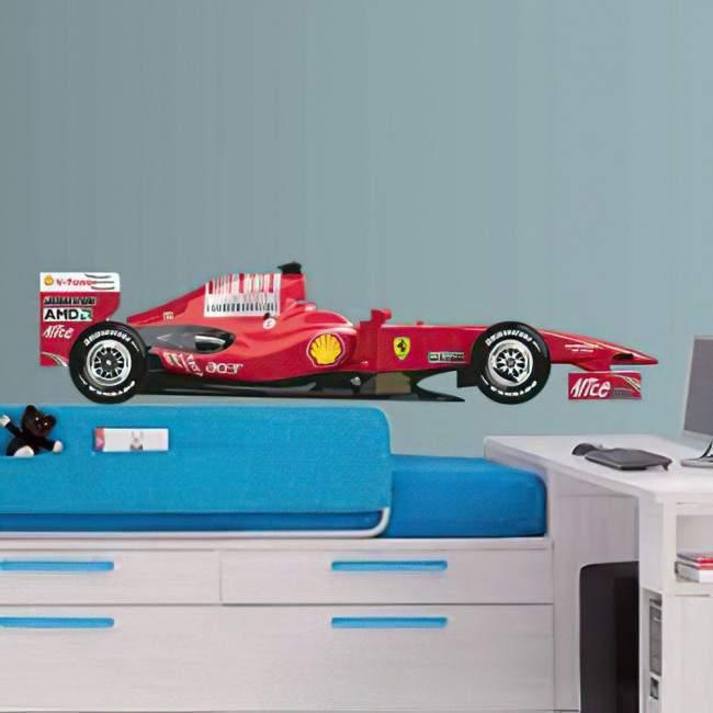 Αυτοκόλλητο τοίχου Ferrari F1 Φόρμουλα 1