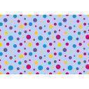 Polka dot (blue), ταπετσαρία τοίχου με μοτίβo