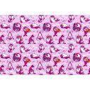 Wallpaper Baby seals pink, pattern
