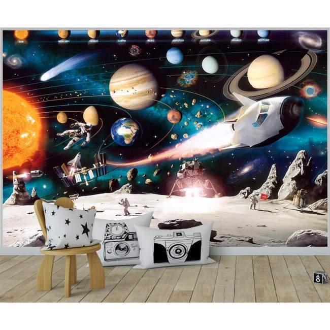 Ταπετσαρία τοίχου Space
