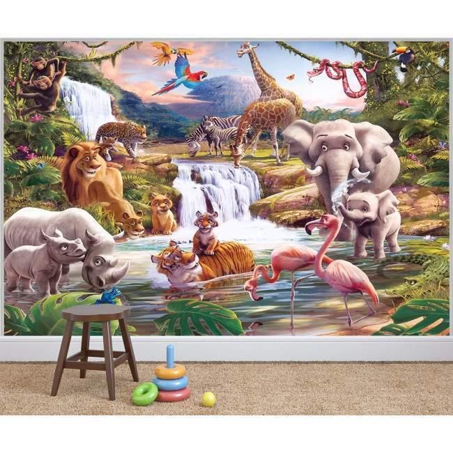 Ταπετσαρία τοίχου Jungle adventure