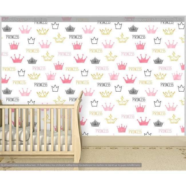 Ταπετσαρία τοίχου Princess, μοτίβο