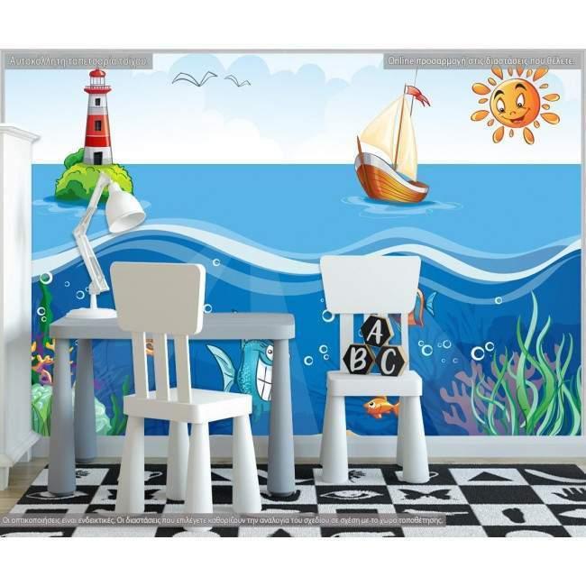 Ταπετσαρία τοίχου At sea bottom