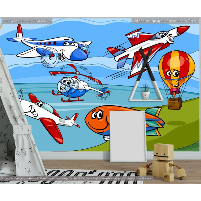 Wallpaper Funny planes and aircraft