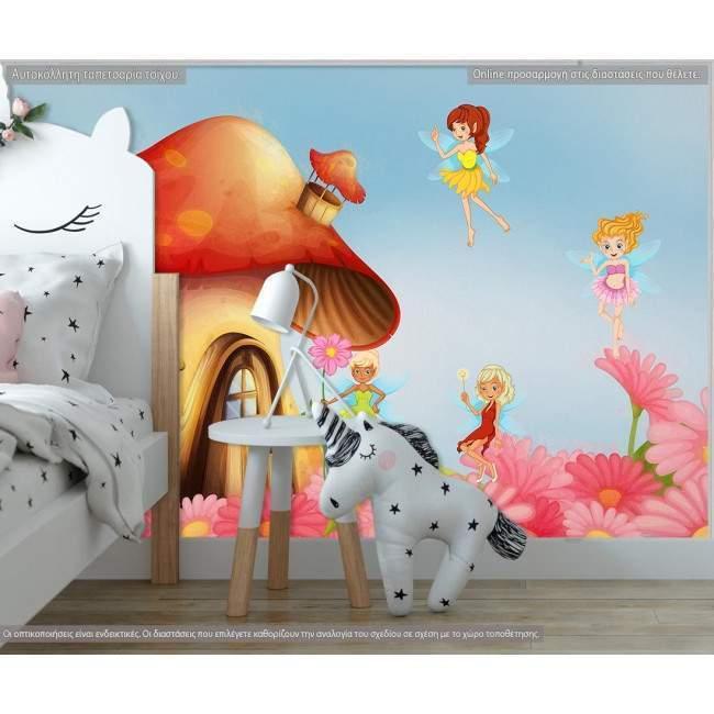 Ταπετσαρία τοίχου House with fairies