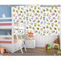 Ταπετσαρία τοίχου Colorfull children, με μοτίβο