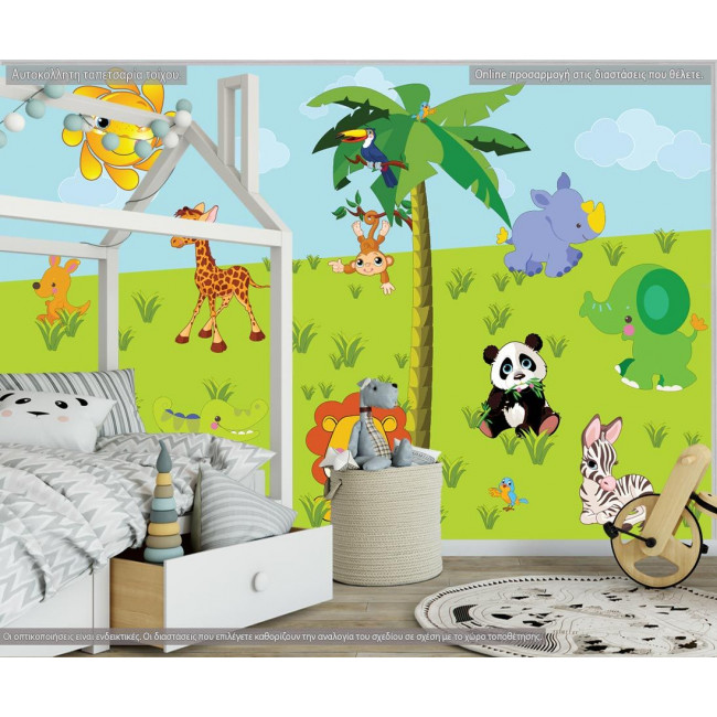 Wallpaper Land animals