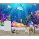 Ταπετσαρία τοίχου Underwater world