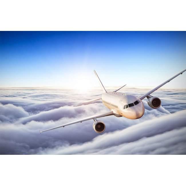 Ταπετσαρία τοίχου Αεριωθούμενο αεροπλάνο