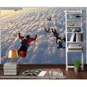 Ταπετσαρία τοίχου Ελεύθερη πτώση