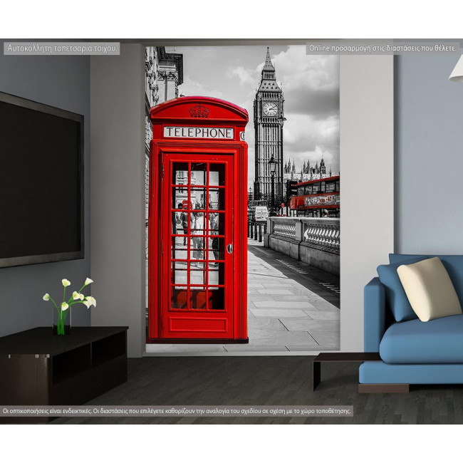 Wallpaper Red London