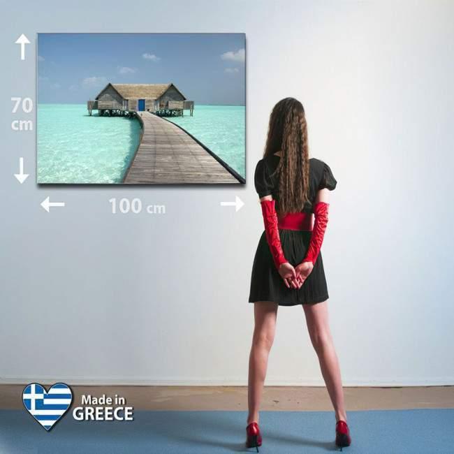 Πίνακας σε καμβά Σπίτι στη θάλασσα