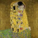 Wallpaper The kiss by G. Klimt