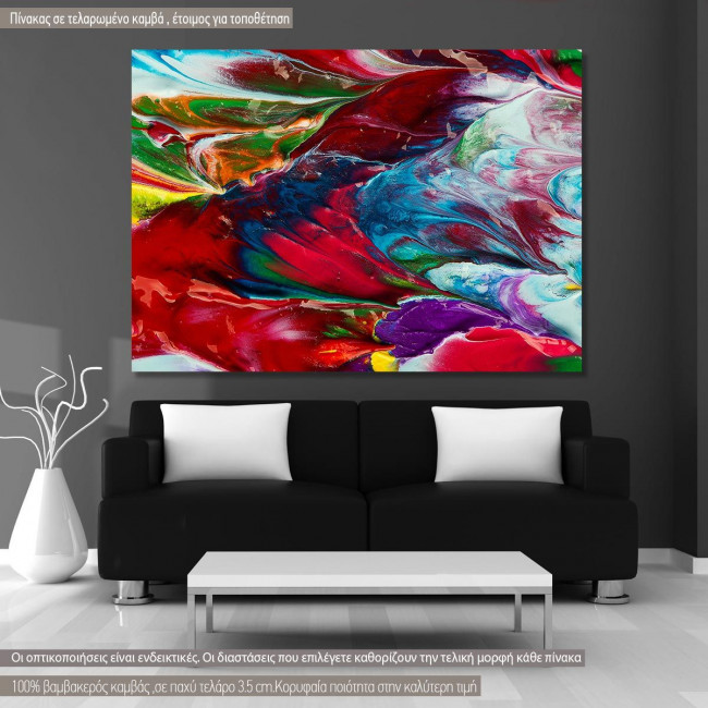 Canvas print Abstract painting VI