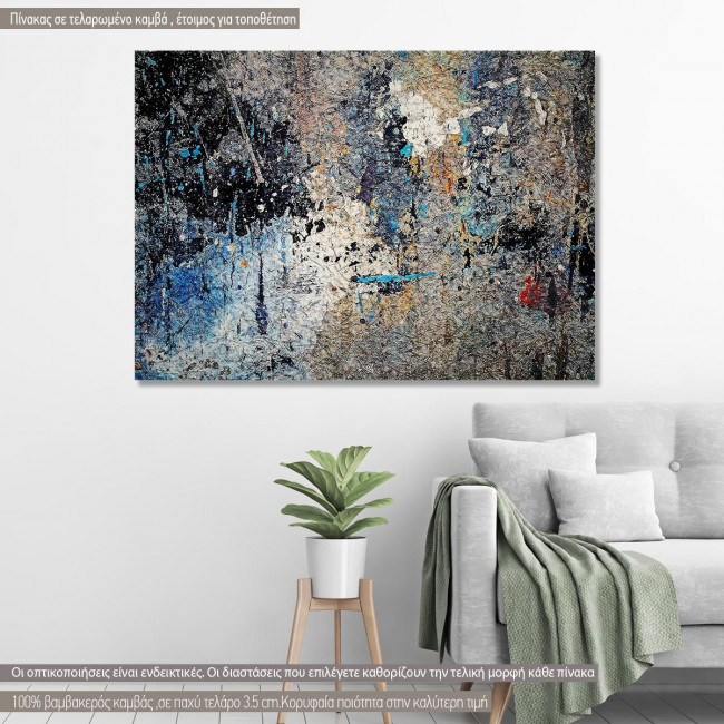 Canvas print Abstract painting X