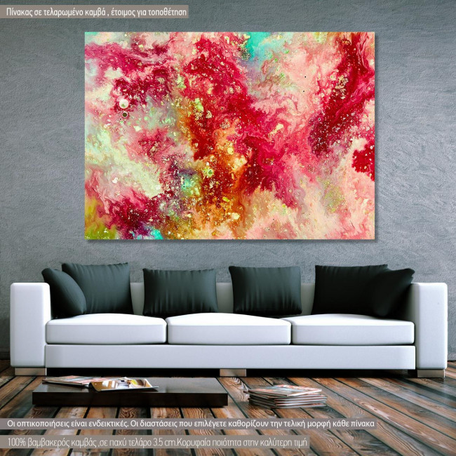 Canvas print Abstract selection XIII