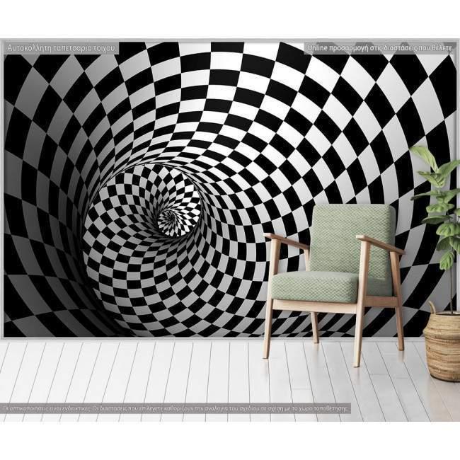 Ταπετσαρία τοίχου 3D illusion