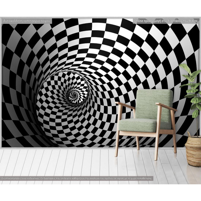 Wallpaper 3D illusion