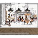 Wallpaper Street cafes