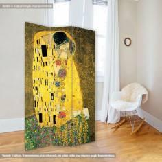 Room divider The kiss, G. Klimt