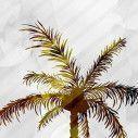 Room divider Tropical landscape