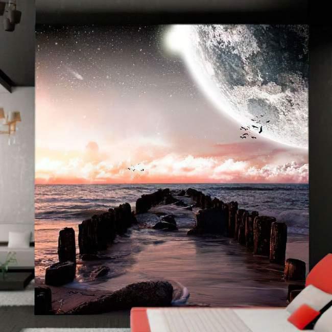Ταπετσαρία τοίχου Τοπίο φαντασίας