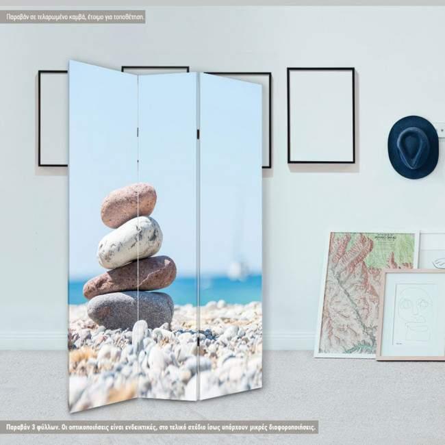 Room divider Stones